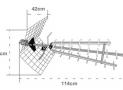 Antenne Metronic 415049 : la meilleure antenne UHF pour l'extérieur? Test et Avis complet